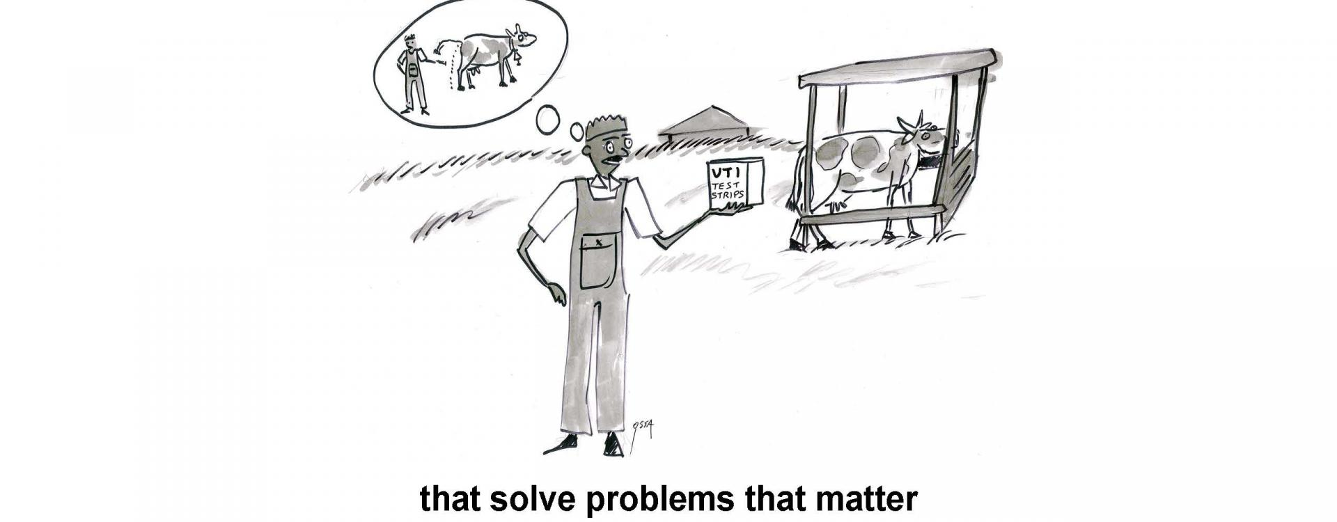 that solve problems that matter