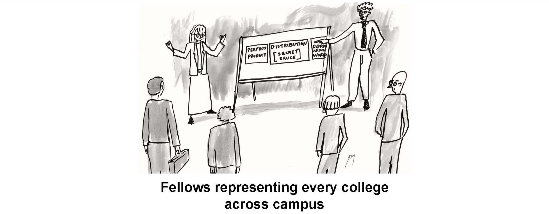 Fellows representing every college across campus
