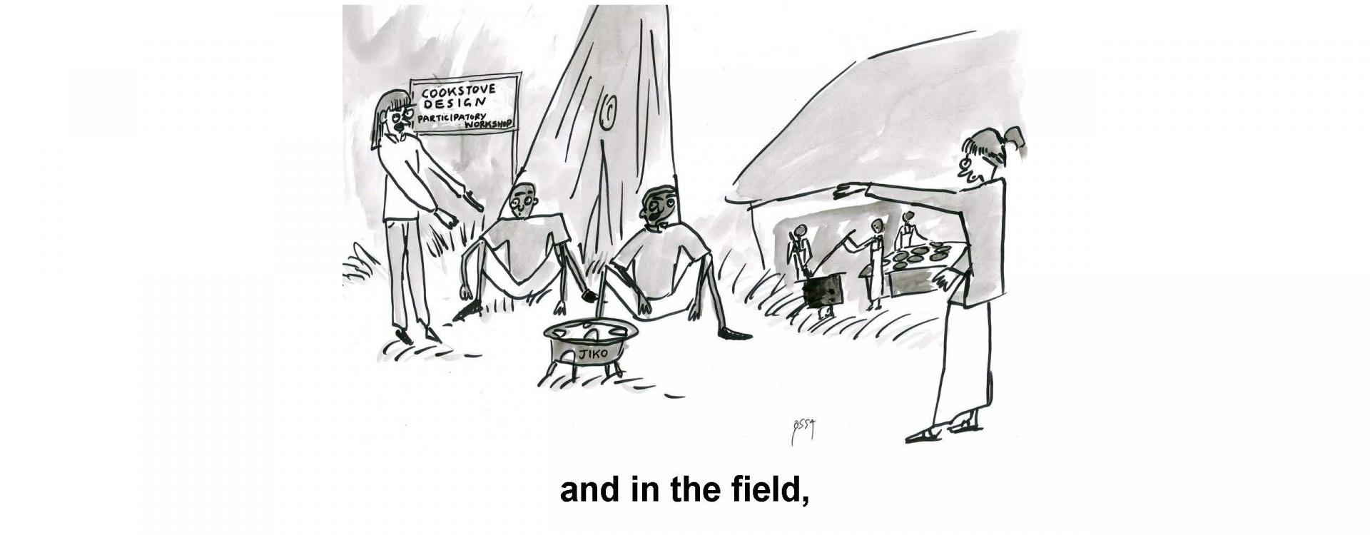 and in the field,