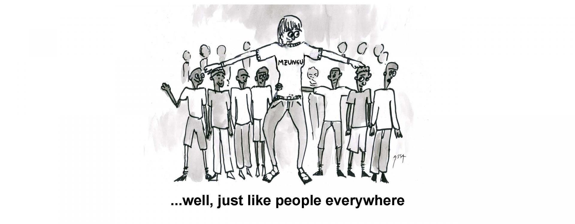...well, just like people everywhere